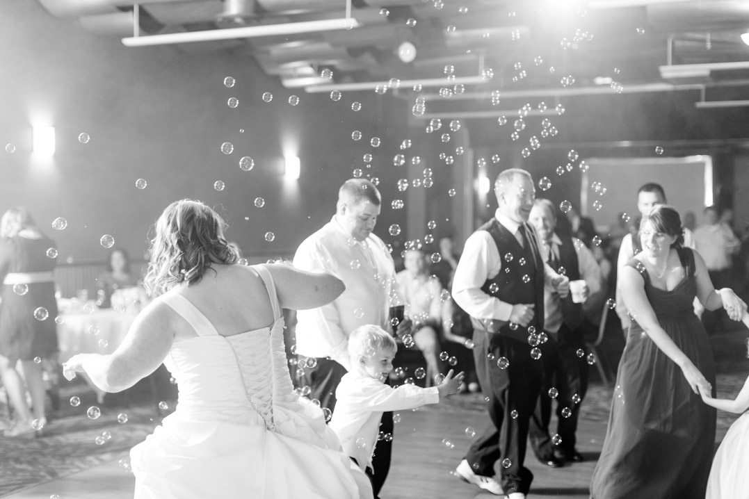 fall metropolis resort eau claire wedding