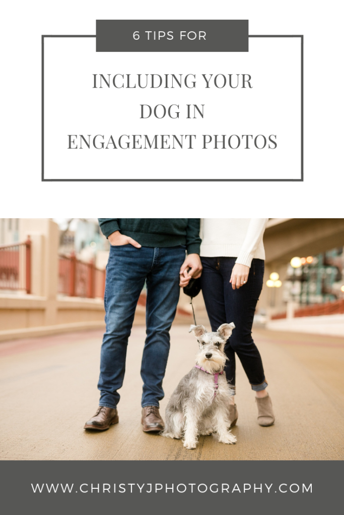 Couples legs with their dog looking at the camera in St. Paul