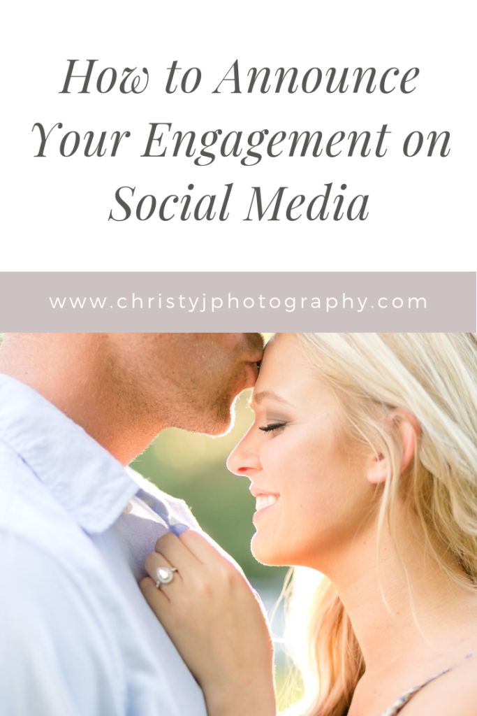 Read more for five tips on how to announce your engagement on social media!