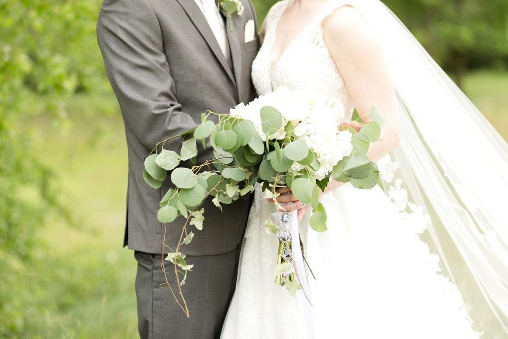 wedding bouquet by Local Blooms in Eau Claire