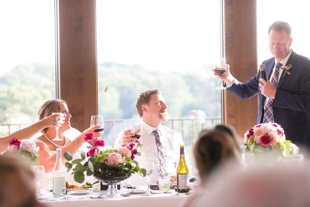 best man speech at the Eau Claire Golf & Country Club