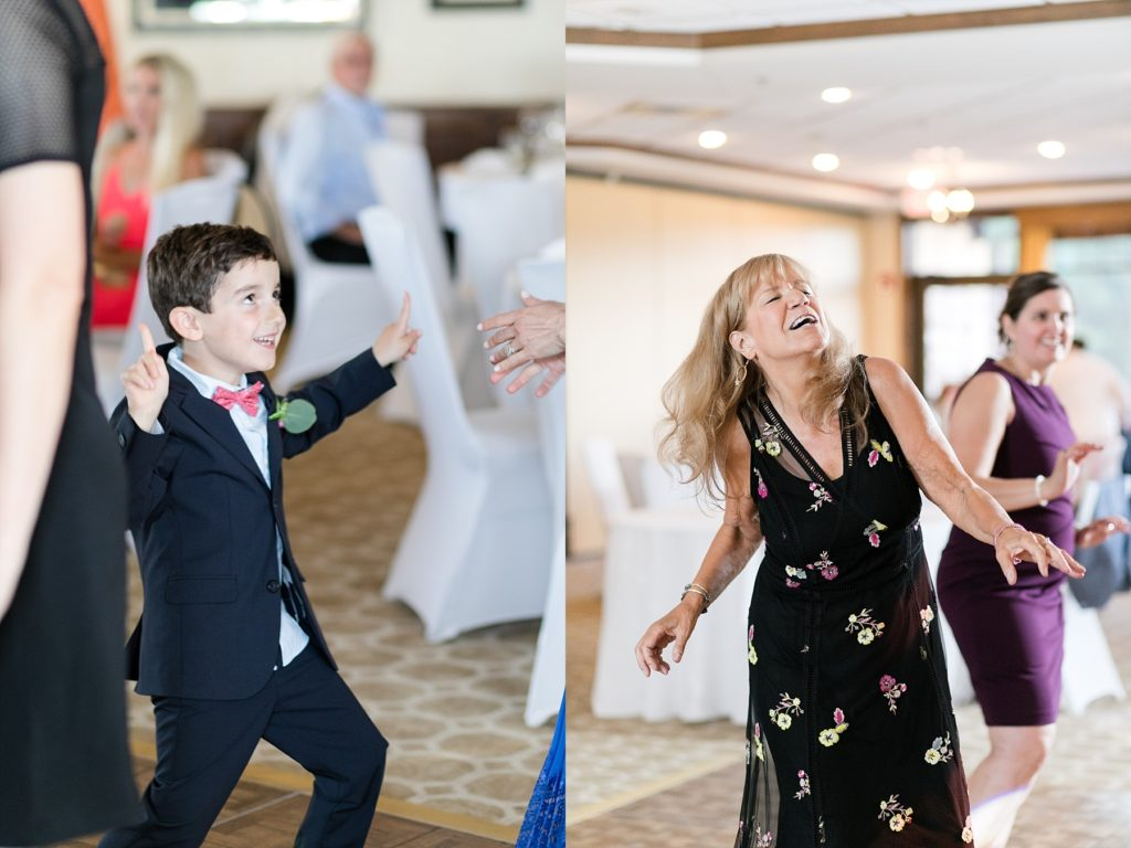 wedding dance at the Eau Claire Golf & Country Club