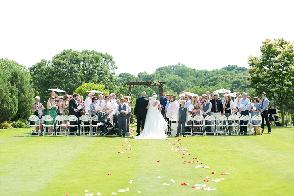 wedding at the Eau Claire Golf & Country Club