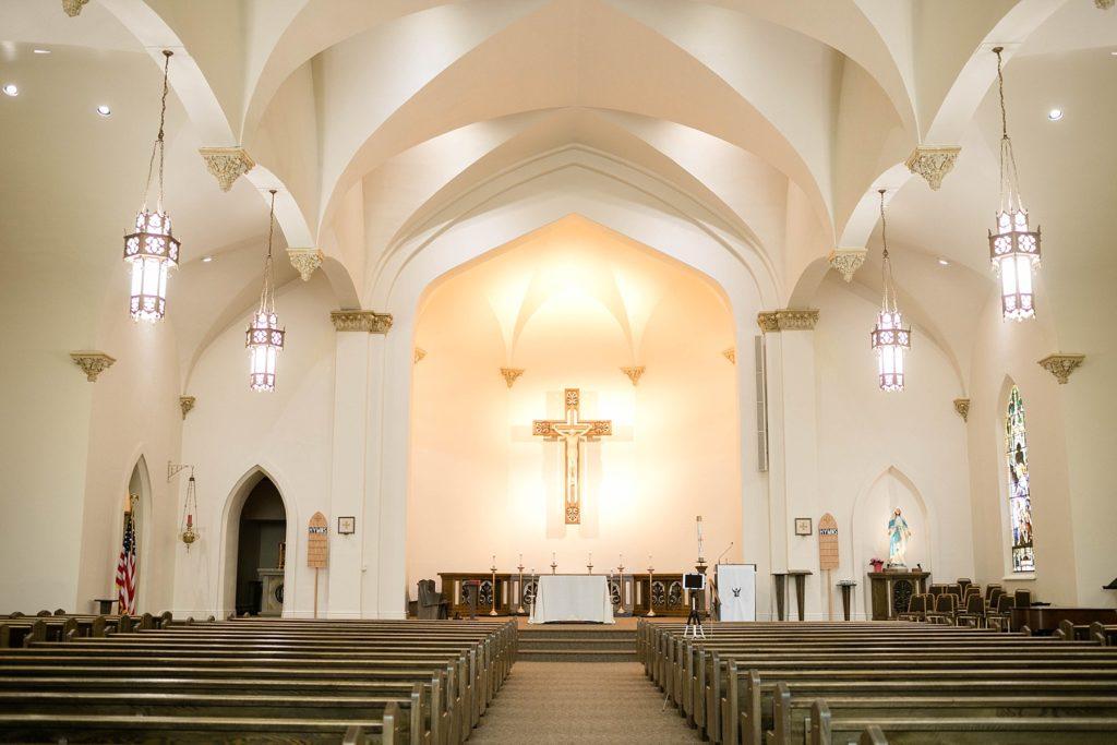 St. Joseph Catholic Church in Rice Lake, Wi