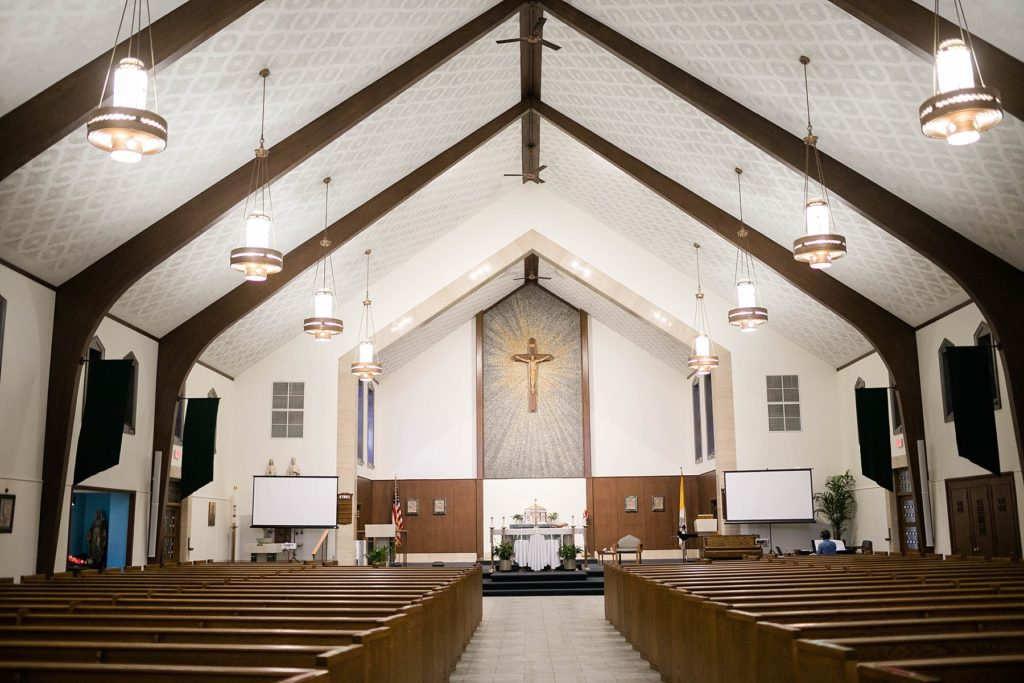 sanctuary at Immaculate Conception Church in Eau Claire