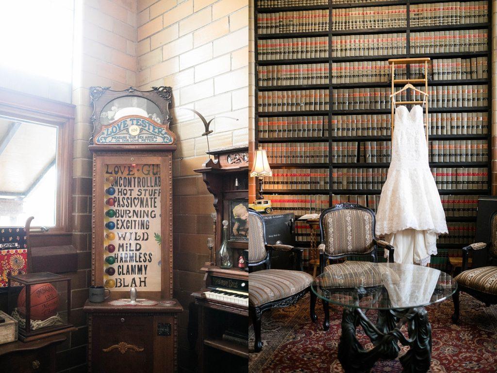 wedding at the Worden Avenue Exchange in Ladysmith WI