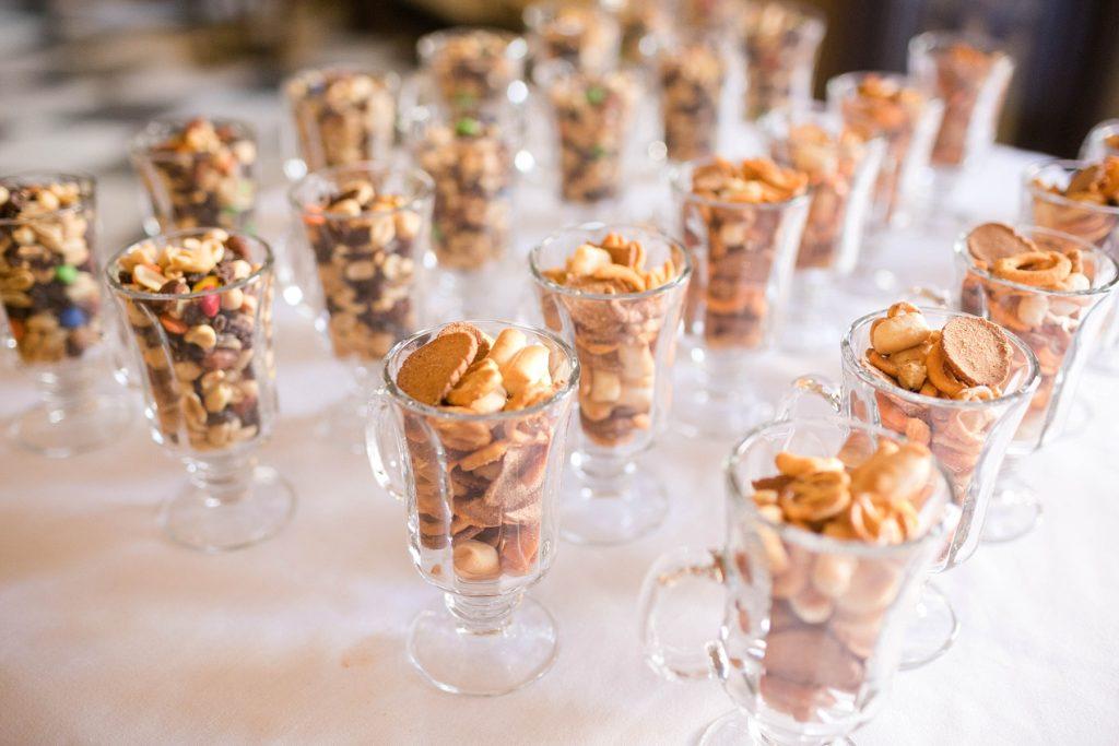 mini snacks  at Masonic Ballroom in Eau Claire